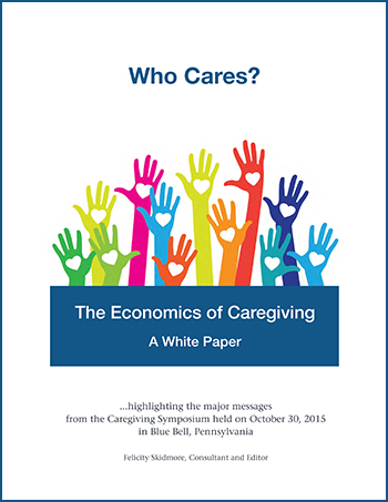 The Economics of Caregiving: A White Paper